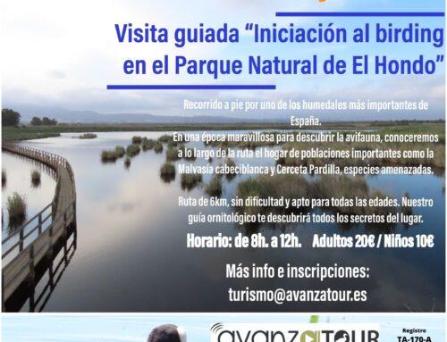 Birding en el Parque Natural de El Hondo, 9/05/2021