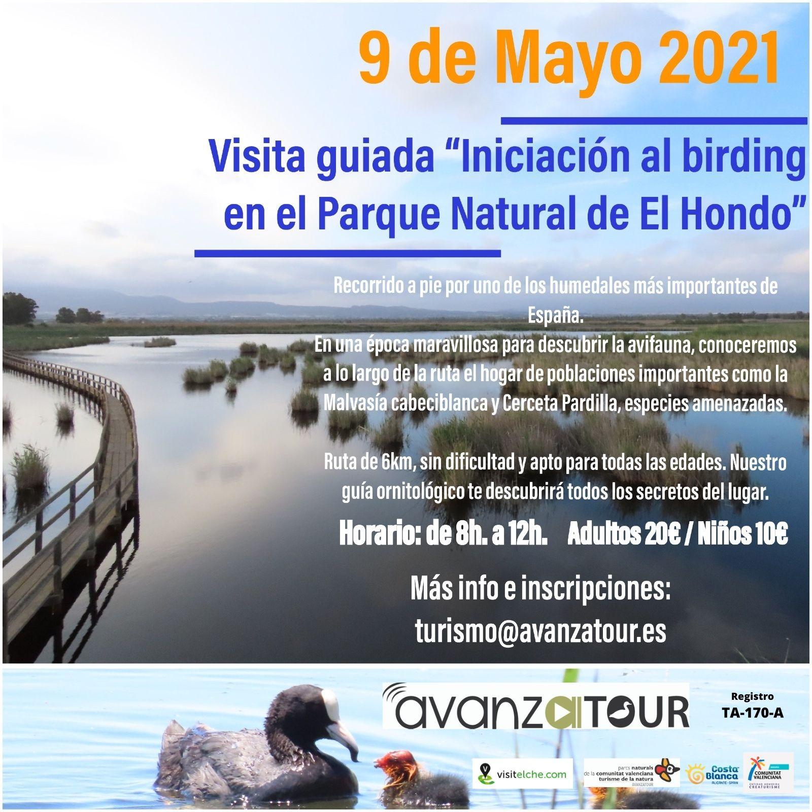 Cartel birding 9 mayo